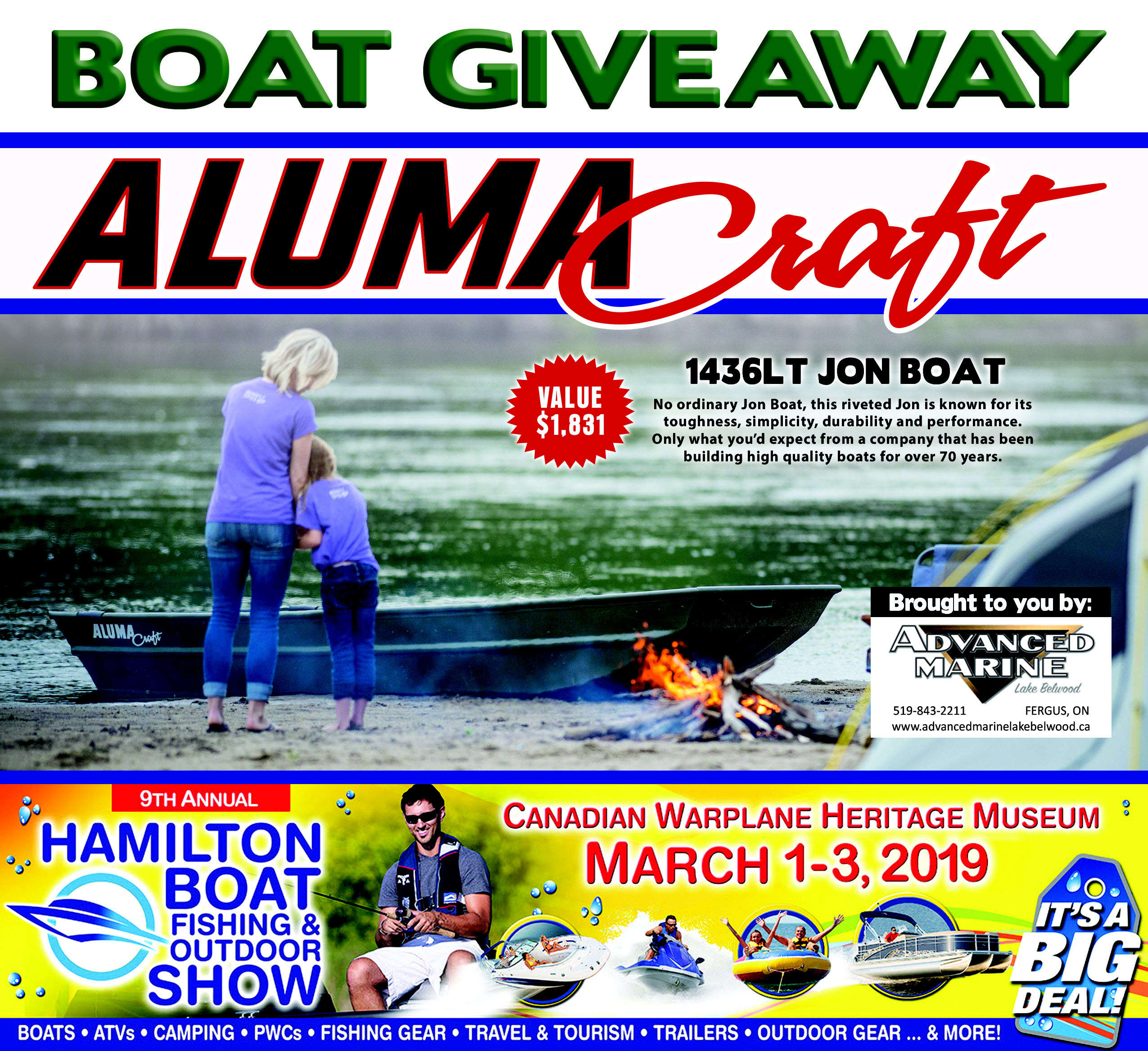 BOAT GIVEAWAY HAMILTONSHOW2019contestrevised1